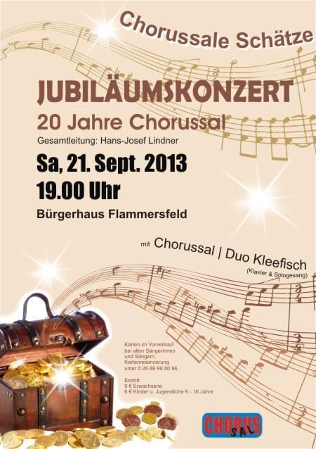 Jubiläumskonzert 21.09.2013