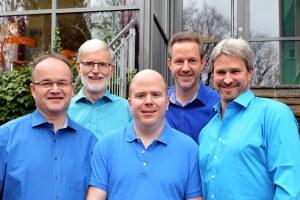 Hintere Reihe von links: Hans-Josef Lindner, Rald Lachmuth Vordere Reihe von links: Martin Leis, Patrick Zillich, Carsten Lindner Es fehlt: Karsten Weber